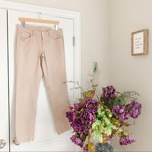 Ann Taylor Loft Modern Skinny Khaki Jeans